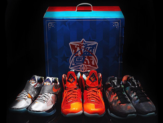 reemplazar Masculinidad Guia  Nike Basketball 2012 All-Star - China Exclusive Pack - SneakerNews.com