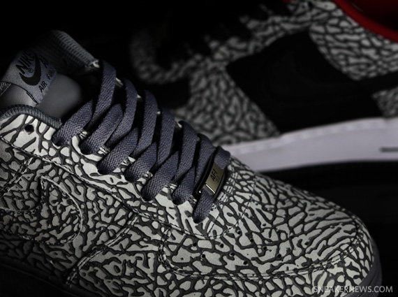 Nike iD released the famed elephant print as a customizable option on the Nike  Air Force 1 ... a36e7dec2
