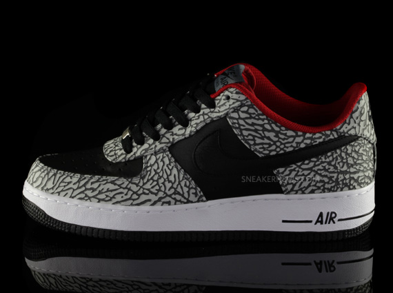 huge discount 9123e 6fe52 Nike Air Force 1 iD Elephant Print - Sneaker News Editions ...
