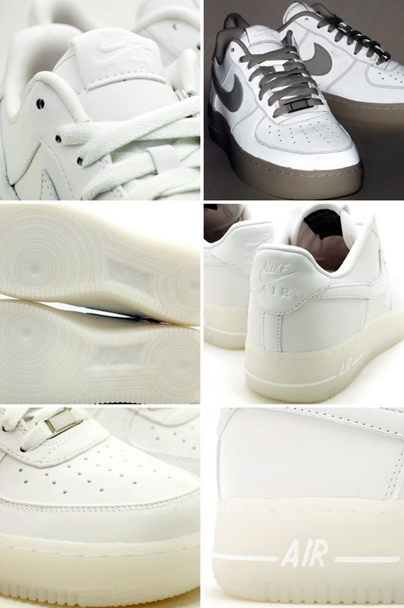 Nike Air Force 1 Low Premium QS 'Pearl' Reflective White