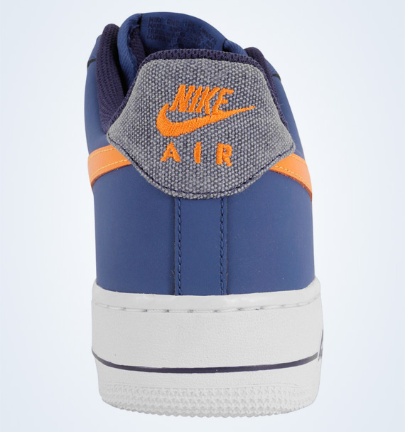lowest price 3b928 90450 Nike Air Force 1 Low Storm Blue White-Vivid Orange 488298-404.  Advertisement. show comments