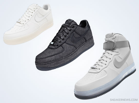 promo code a5058 13df1 hot sale Nike Air Force 1 XXX Pearl Collection Three Colorways