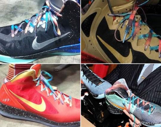 Nike 2012 All-Star 'Galaxy' PE's