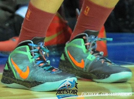 2012 Nike Hyperdunk Galaxy all-star blake griffin size 9.5 ...  |Blake Griffin Shoes 2012 Galaxy