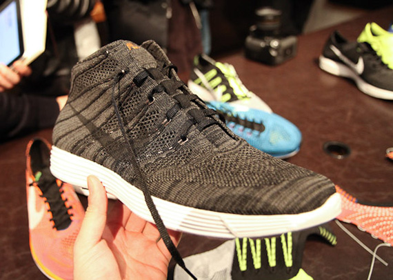 finest selection 606aa db720 Nike Lunar Fly Knit Trainer Mid - SneakerNews.com