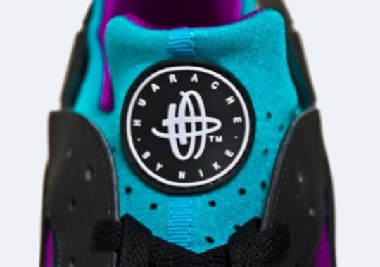 Nike Huarache Free 2012 – Black – Tropique – Magenta