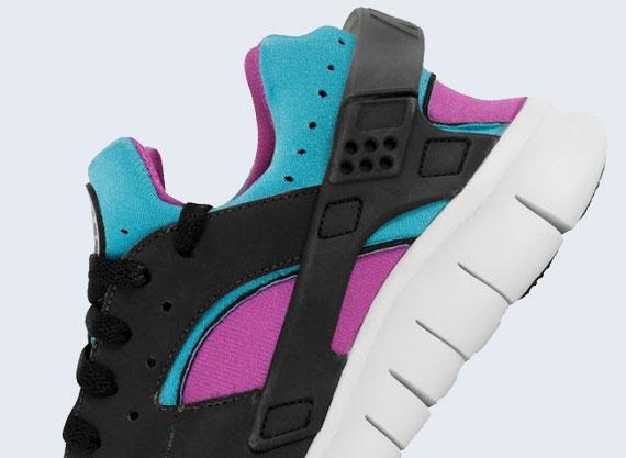 Nike Huarache Black Pink