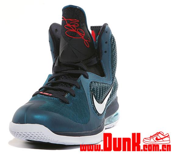 c244977f4 Nike LeBron 9 - Green Abyss - Obsidian - Light Blue Heather -  SneakerNews.com