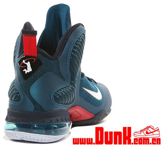 Nike LeBron 9. Green Abyss/White-Obsidian-Light Blue Heather 469764-300  03/02/12 $170. eBay Marketplace Logo \
