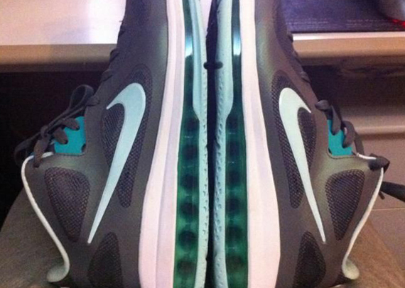 cheap for discount c54dc e31a2 Nike LeBron 9 Low – Mint Candy – Cool Grey – New Green