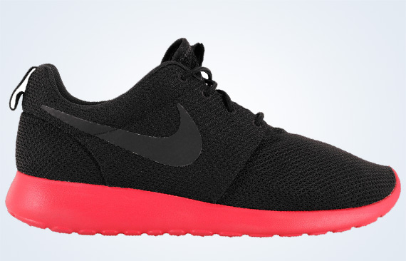 nike roshe red and black off 63% - www