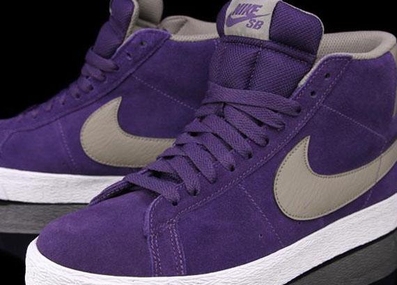 nike dunk low jordan cl - Nike SB Blazer 'Quasar Purple' - Available - SneakerNews.com