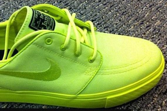 72c09a97a6c5 Nike SB Stefan Janoski  Neon  - SneakerNews.com