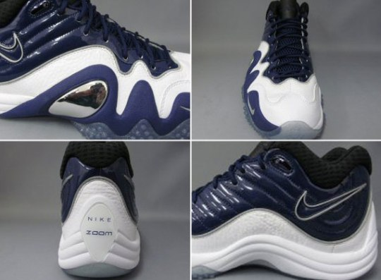Nike Zoom Uptempo V – White – Navy