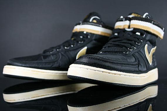 separation shoes c30f7 65a92 Nike Vandal High Supreme - Black - Metallic Gold - White ...