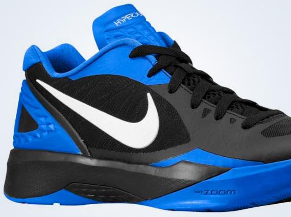 promo code bdaff 7e770 Nike Zoom Hyperdunk 2011 Low – Black – Treasure Blue – White