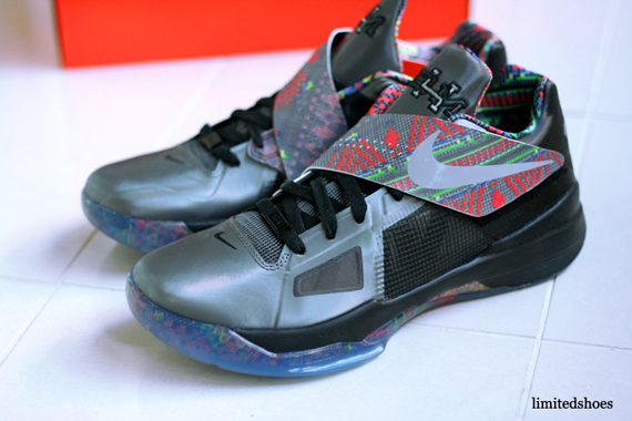 Nike Zoom KD IV 'BHM' - Available Early on eBay ...Black History Month Kd 4