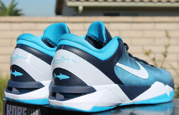 Nike Zoom Kobe VII Great White Shark Release Reminder
