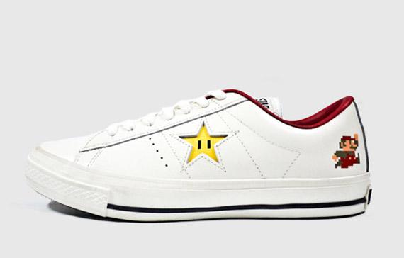 converse one star x super mario bros