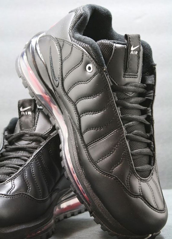 quite nice 90d38 108ba durable service Nike Total Griffey Max 99 Black Zen Grey Varsity Red  Release Reminder