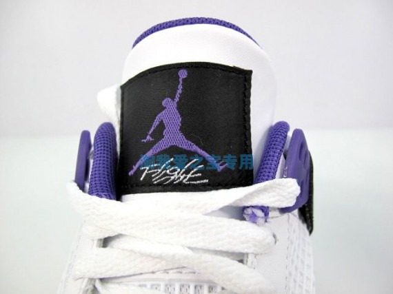 promo code 4d22d 186ad Air Jordan 4 GS Ultraviolet New Photos new