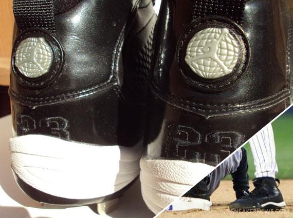 771394d664c lovely Air Jordan IX Derek Jeter New York Yankees PE - the-well ...