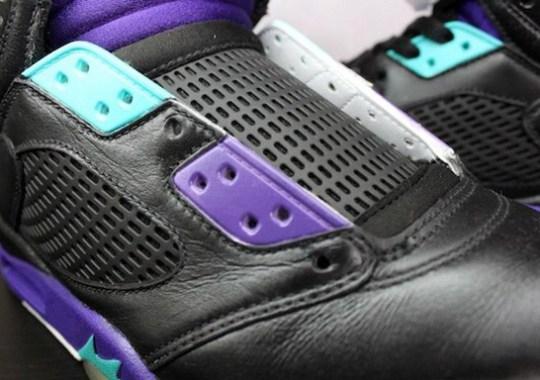 Air Jordan V 'Grape to Aqua' Customs by Rudnes