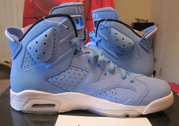 04f39f06474fa1 Air Jordan VI  Pantone  Sample - Available on eBay - SneakerNews.com