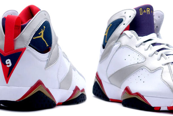 air jordan vii olympic 2012 running