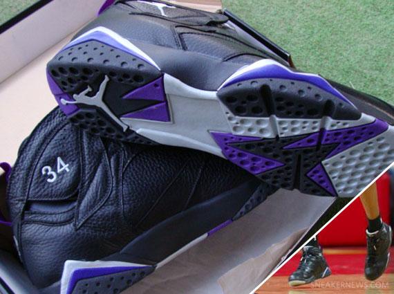 d1fc58957260 Air Jordan VII - Ray Allen Milwaukee Bucks PE - SneakerNews.com