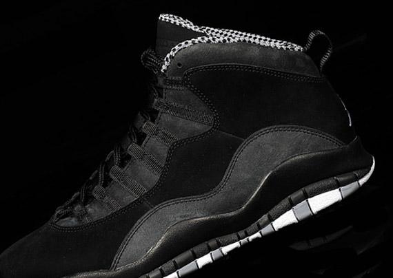 Air Jordan 10 'Stealth' – New Images