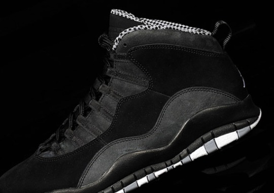 Air Jordan 10 'Stealth' – New Images