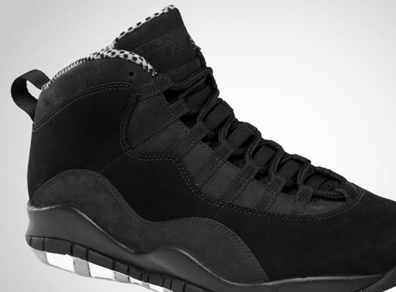 Air Jordan X 'Stealth' – Official Images