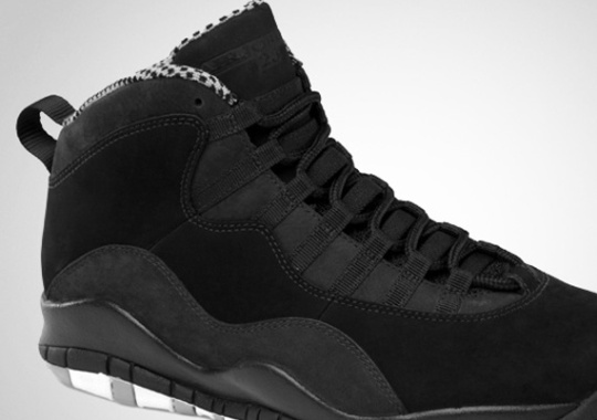 Air Jordan X 'Stealth' – Official Images
