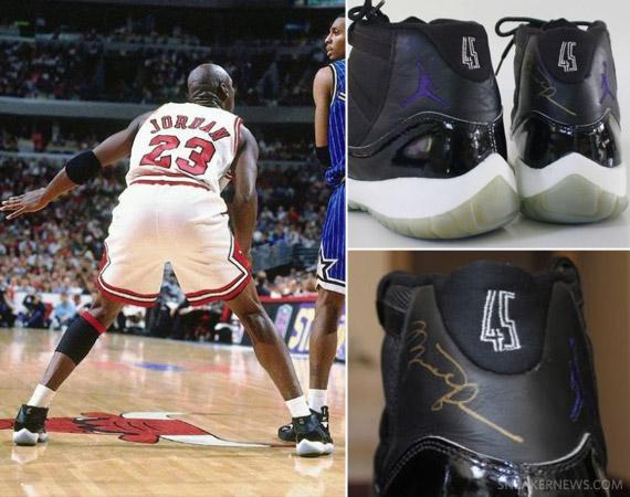 Air Jordan XI 'Space Jam' - Autographed