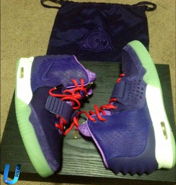 Nike Air Yeezy 2 - Purple - SneakerNews.com