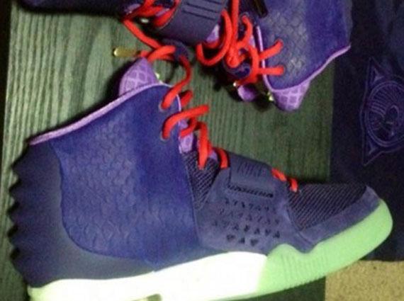 Nike Air Yeezy 2 Purple