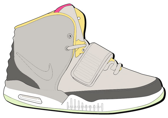Color Your Own Nike Air Yeezy 2 cheap · '