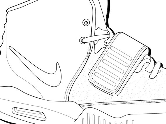 Color Your Own Nike Air Yeezy 2