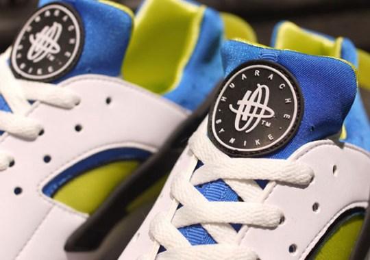 Nike Huarache Free 2012 – White – Soar – Cyber