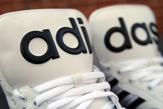 Jeremy Scott x adidas Originals JS Instinct Hi – White – Black