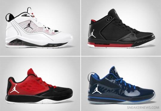 Jordan Brand May 2012 Footwear