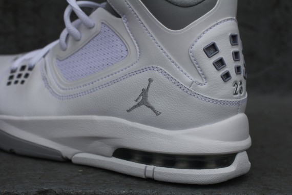 Vuelo Nike Air Jordan 23 Primeros Lobo Gris Blanco c1fxZ
