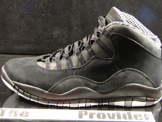 Air Jordan X  Stealth  - Release Reminder - SneakerNews.com 1f6ea6e5cf
