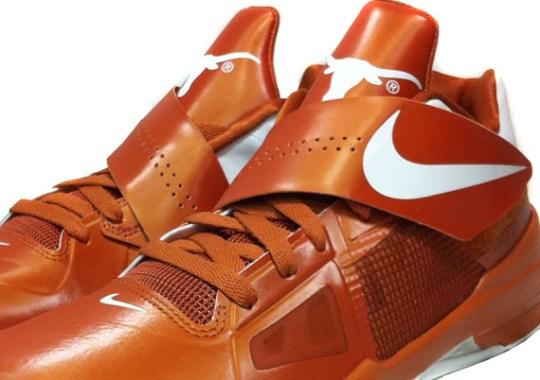 Nike Zoom KD IV 'Texas Longhorns' – Release Reminder