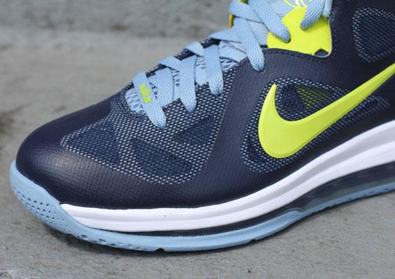 Hot Sale Online Nike Zoom Lebron 9 Low 518811 401 Cyber Obsidian