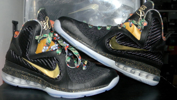 ... Nike LeBron 9  Watch The Throne  by copping this available pair from  got kickz on eBay. show comments 264bba62d