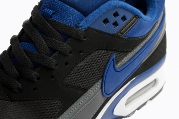 half off 472e7 005f2 Nike Air Classic BW Textile – Black – Deep Royal – Dark Grey