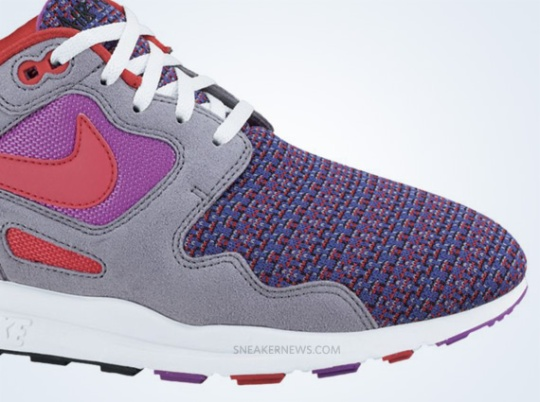 Nike Air Flow – Magenta – Action Red – Stealth