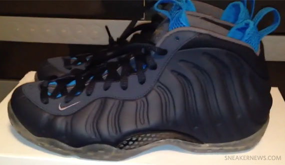 Nike Air Foamposite One Yankees Dark Obsidian